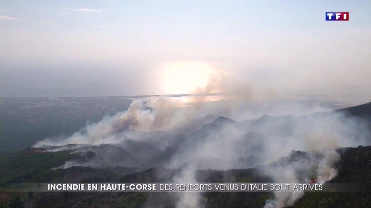 Feu de forêt en Haute-Corse : 1800 hectares détruits et des centaines de personnes évacuées https://t.co/jssb5hC0dv