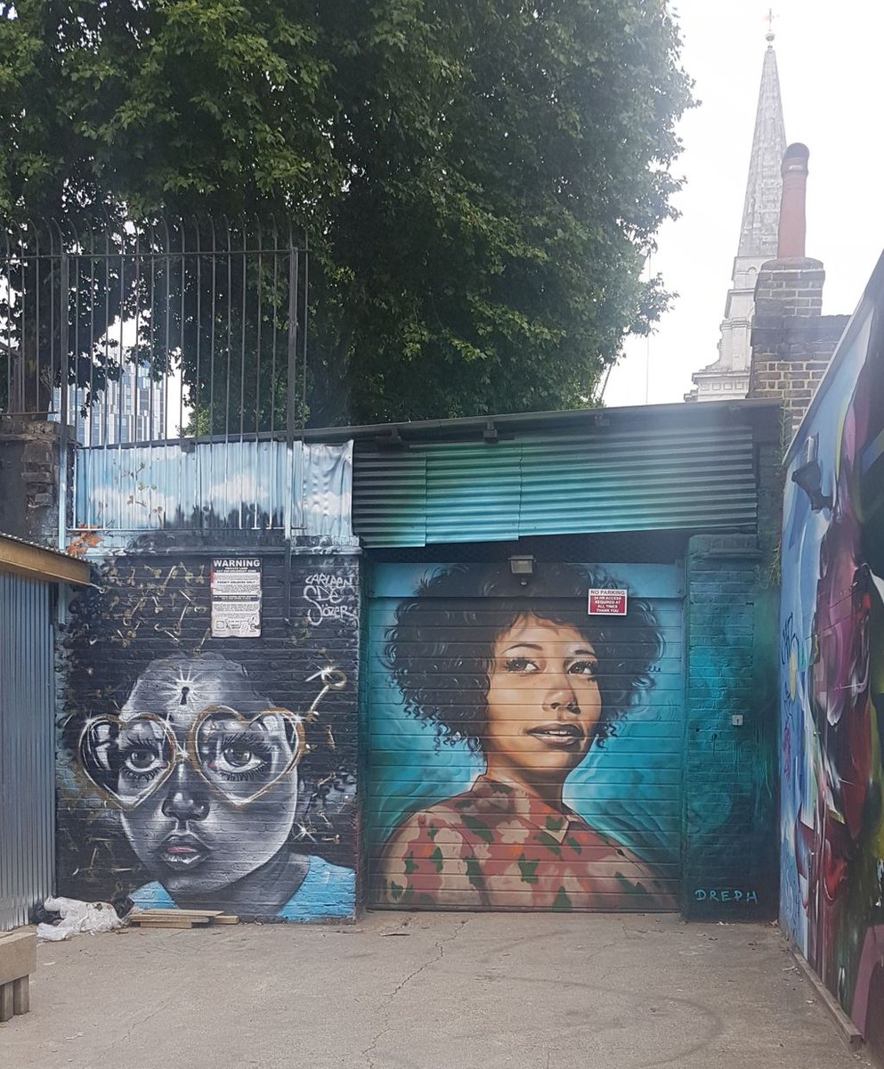 Had an amazing morning exploring #StreetArt in Shoreditch. #London <br>http://pic.twitter.com/zEihUdktWQ