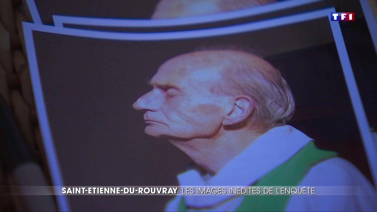 Un an après l'attentat de Saint-Etienne-du-Rouvray, la douleur est toujours vive parmi les paroissiens https://t.co/x9pY7KrGba