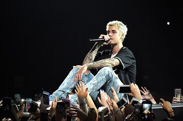Here's how many days off Justin Bieber has had since his Purpose Tour...
