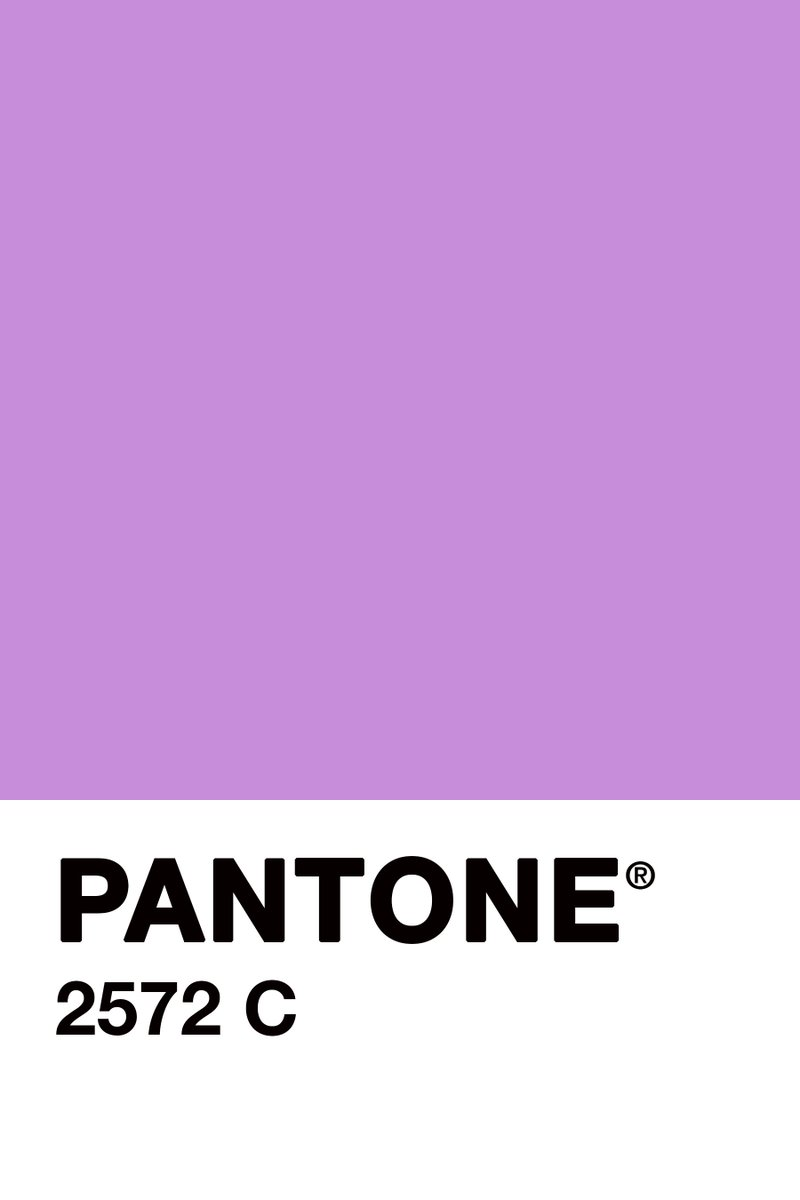 "H n n H  on Twitter: ""#ColourOfTheDay #July25th @pantone 2572 C I'm too  #tired to choose for another #colour."
