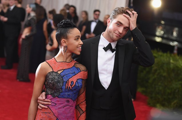 Robert Pattinson tells Howard Stern he's 'kind of' engaged to FKA Twig...