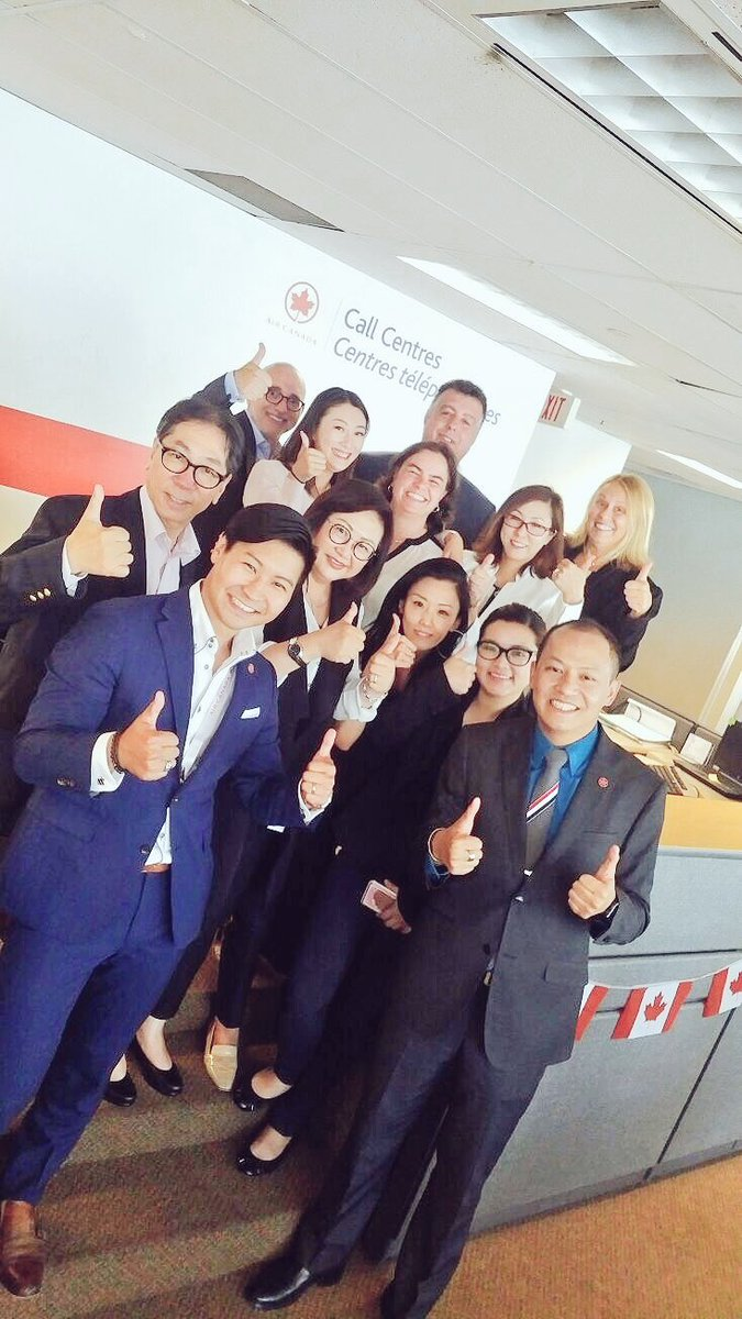#Asia Sales/RM team spent a wonderful afternoon @AirCanada #Toronto Contact Center with our colleagues to promote our Asia product/service. <br>http://pic.twitter.com/kDGzmMHRVG