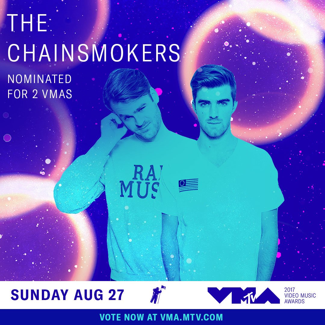 Congrats to 3 of our artists that are nominated for the @MTV #VMAs. Vo...