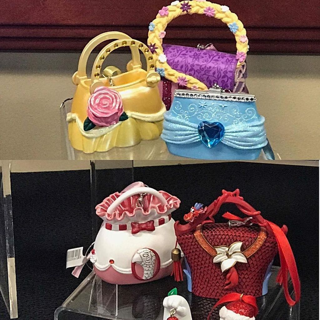Disneylifestylers On Twitter New Disney Bag Ornaments Coming To Parks Disneyprincess Disneyholiday Disneyornament Marypoppins Mulan