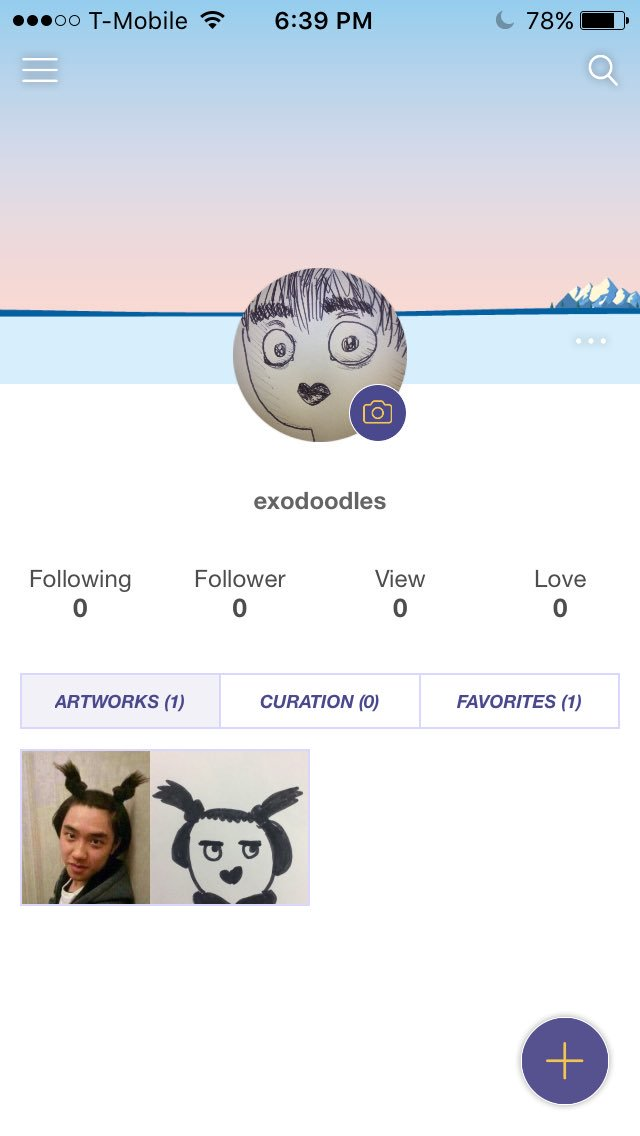 Exodoodles profile on Fanbook!