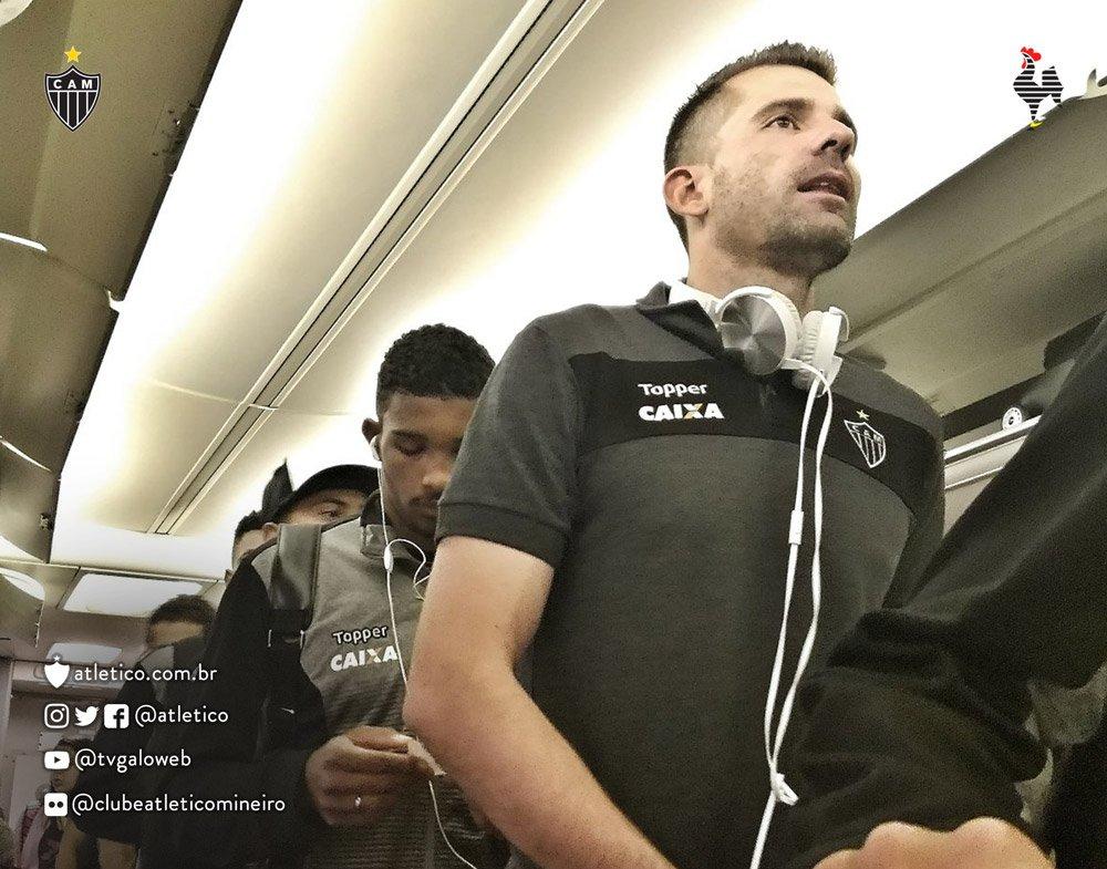 #Galo segue para o Rio de Janeiro, local do jogo de volta das quartas de final da Copa do Brasil, contra o Botafogo! Vamos, ! #BOTxCAM