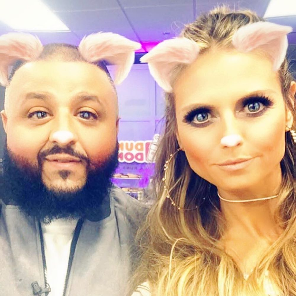 There's no wrong way to take a selfie with @djkhaled. #JudgeCuts https...