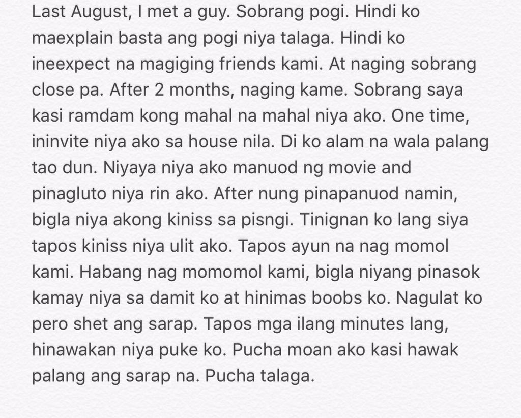 Www sex story tagalog