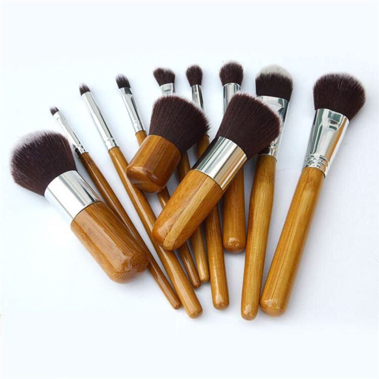 They&#39;re Here! Handmade 11 Piece Bamboo Makeup Brush Set - Brilliant! Gorgeous! #makeup #bamboo #brushset #gorgeous<br>http://pic.twitter.com/9yQzKncqP0