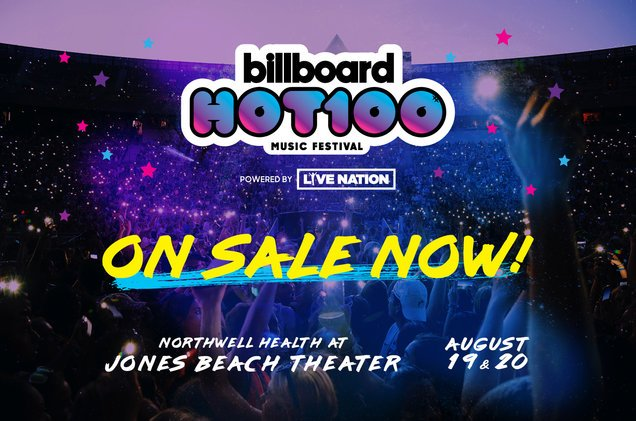 Get your tickets to the Billboard #Hot100Fest now! 🔥https://t.co/A8Pvr...