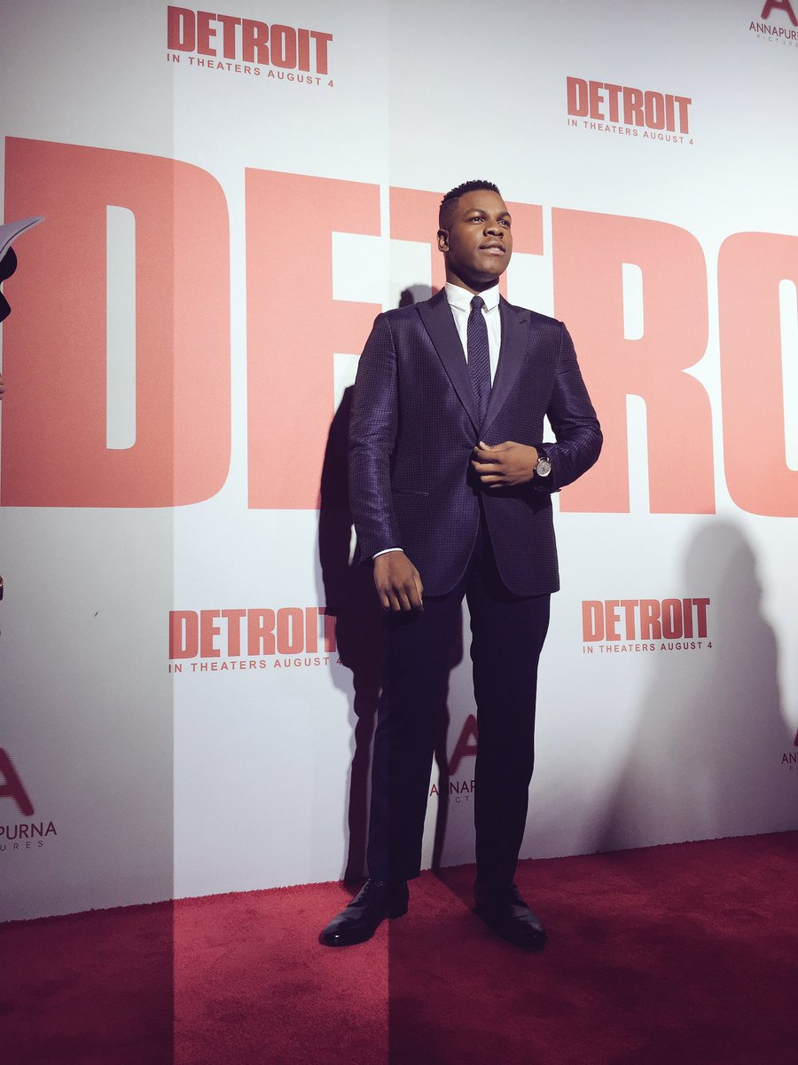 I'm here ! A real historical moment! DETROIT is the first movie to be...