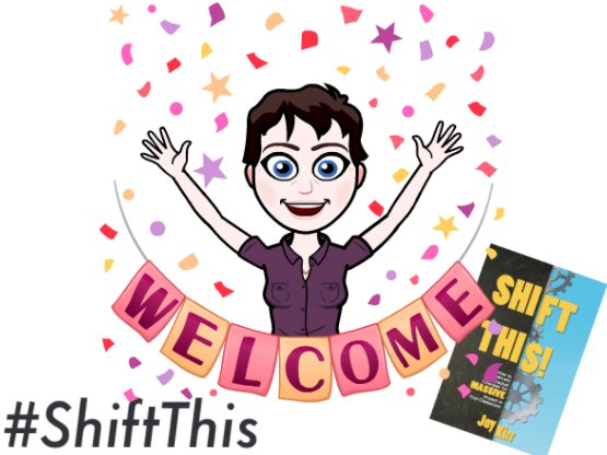 Welcome to the #ShiftThis chat! Please introduce yourself. I'm currently in Boston, MA at #BLC17 - Facilitated a #geniushour wkshp today! https://t.co/IUjapQwlvD