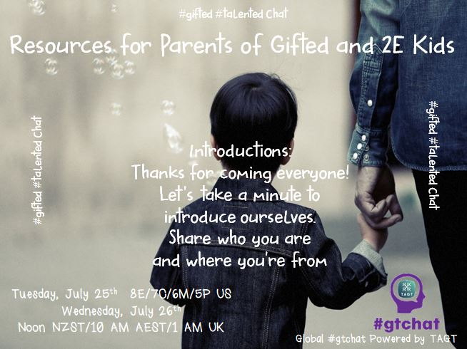 Let's take a minute to introduce ourselves. Share your name, location, role!  #gtchat https://t.co/lEye9G3JJC