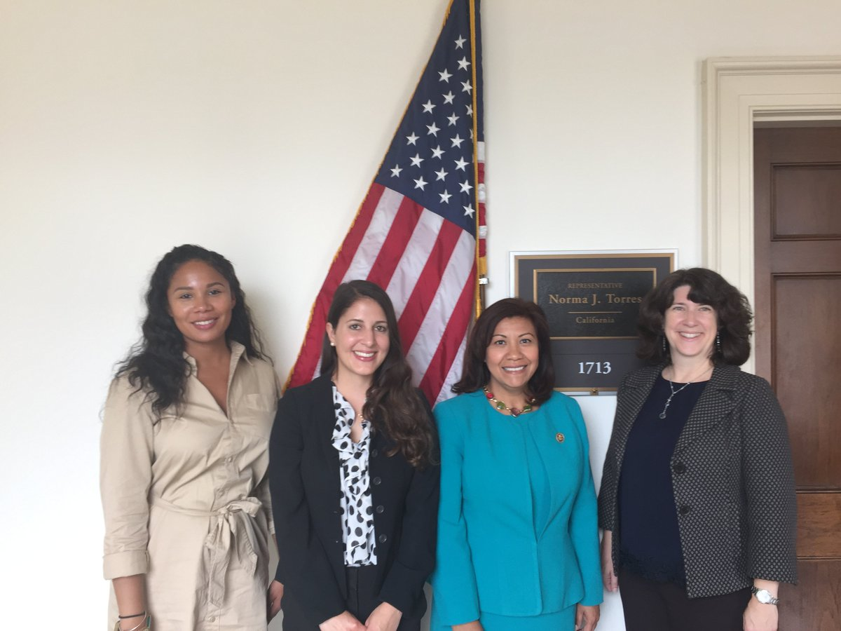 Thank you Congresswoman Torres @Norma4Congress for meeting with our DC reps and @BiocominLA to discuss #biomedical innovation in #LA County<br>http://pic.twitter.com/SinlYvPCu0
