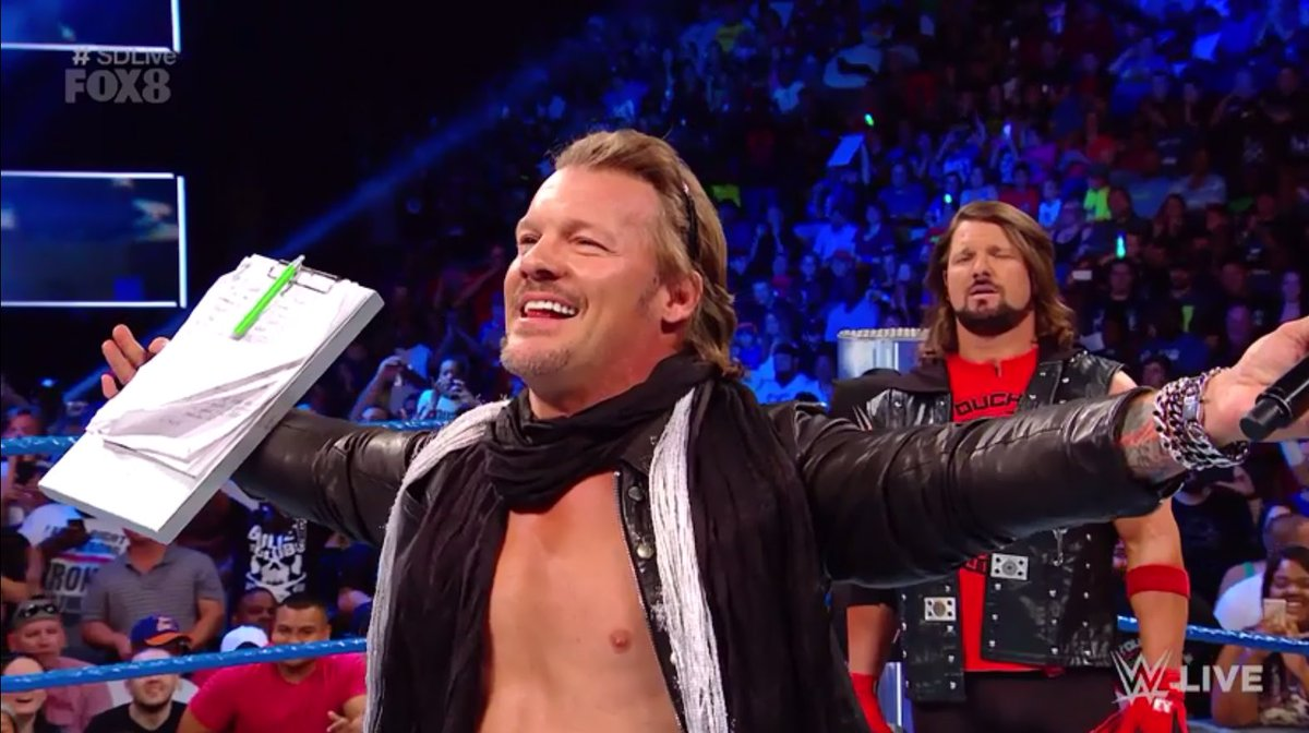'It's the return of Jericho... WELCOME BACK MAAAAN!' - @IAmJericho! #S...