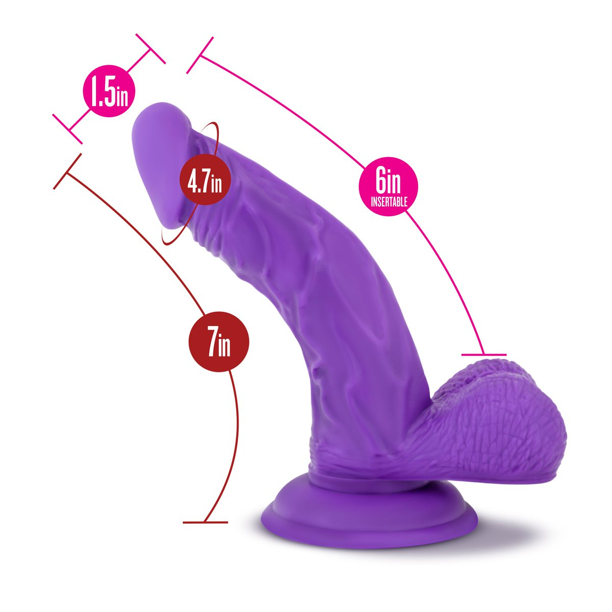 Suction dildo pillow