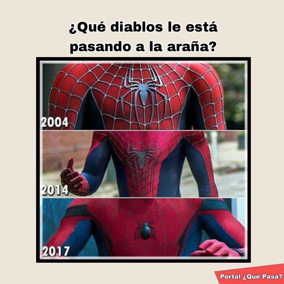 Resultado de imagen de Spiderman  chistes