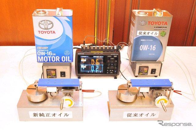 トヨタ、純正キャッスルオイルを刷新…全合成油化で摩擦係数を3分の1に低減 https://t.co/QcyoQSY6Bu  #TOYOTA #トヨタ