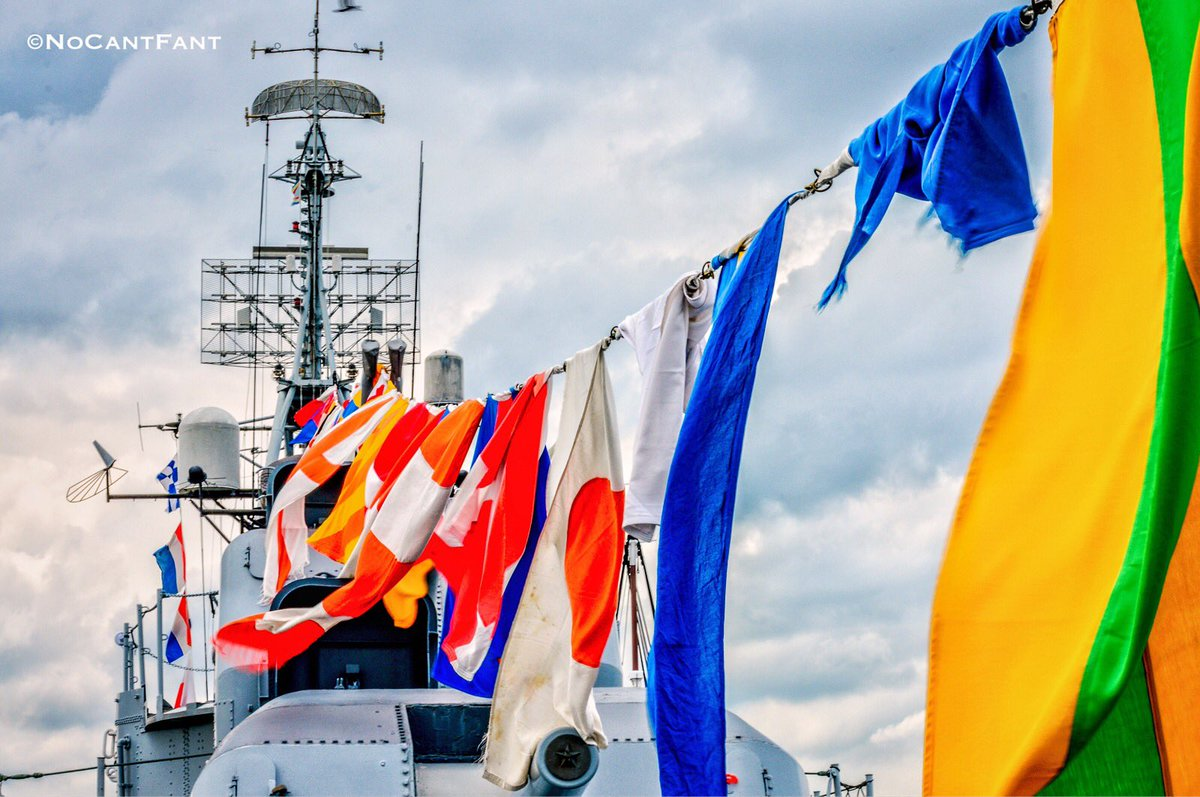*Battle of the Flags*Create Your World! #Wanderlust #nomad #ship #battleship #flags #color #Boston #NoCantFant #Something4thepeople <br>http://pic.twitter.com/2zOdF5DoHS