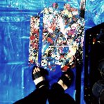 """ツアーセットPainting, DAY2。そして今日はOLDCODEX 5th Album, """"th…"""