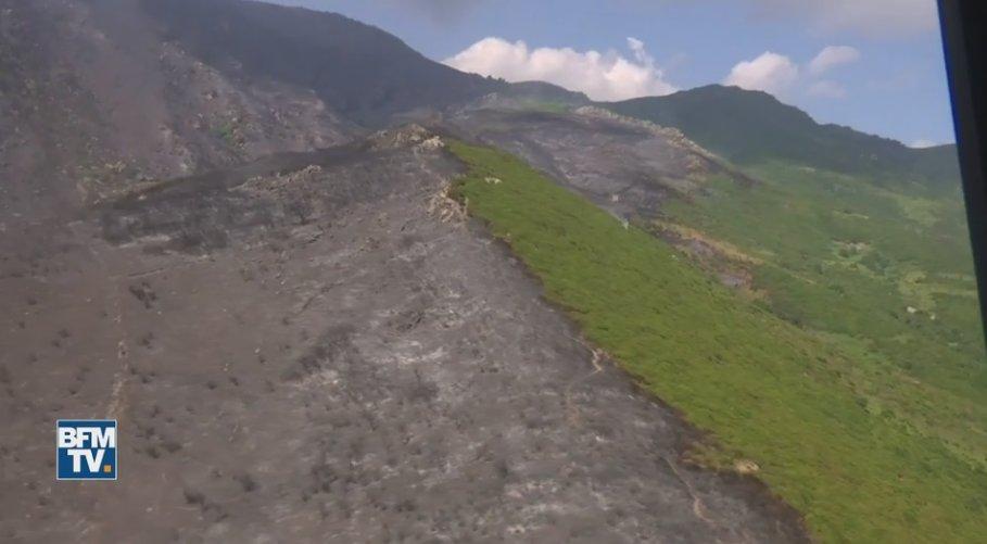 VIDEO. Les dégâts causés par les incendies en Corse vus du ciel https://t.co/1v9iJPp9wl
