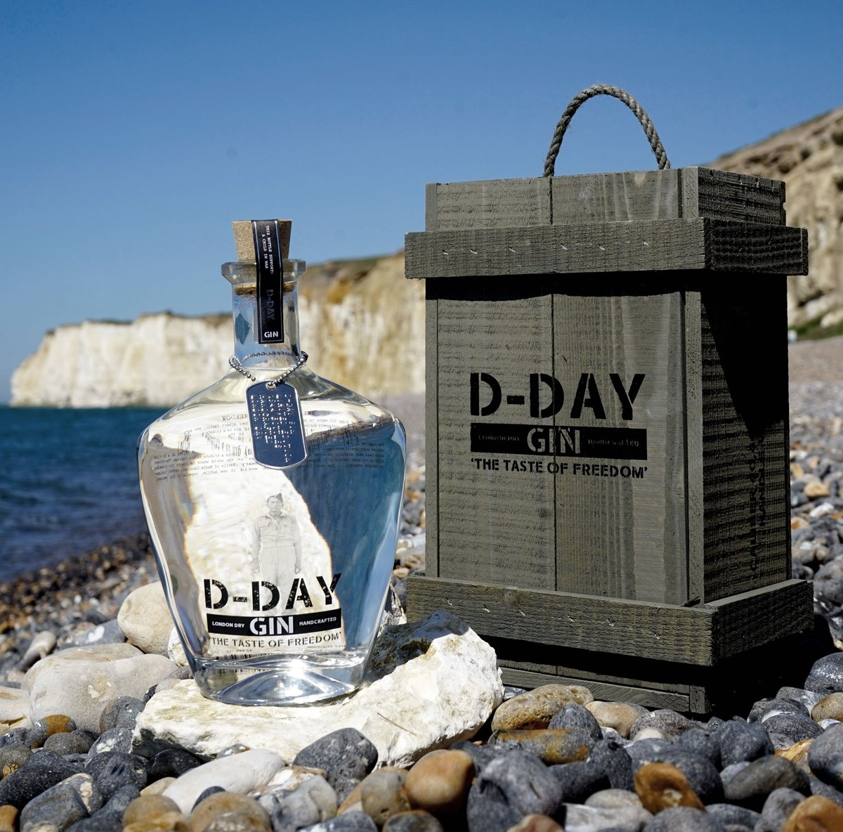 Image result for d-day gin logo