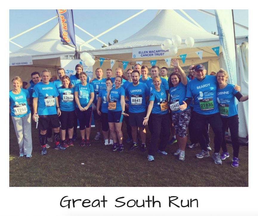 We're getting excited for the Great South Run on the 22nd October. There's still time to join our awesome team.  https://t.co/WCgRz1GJYp