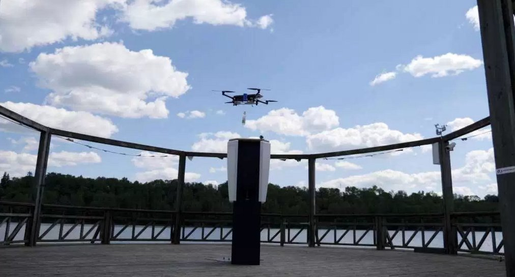 Cleveron opens fast and safe public #drone delivery service:  http:// bit.ly/2uXaQ10  &nbsp;   @sUASnews<br>http://pic.twitter.com/dyycCSTcWs