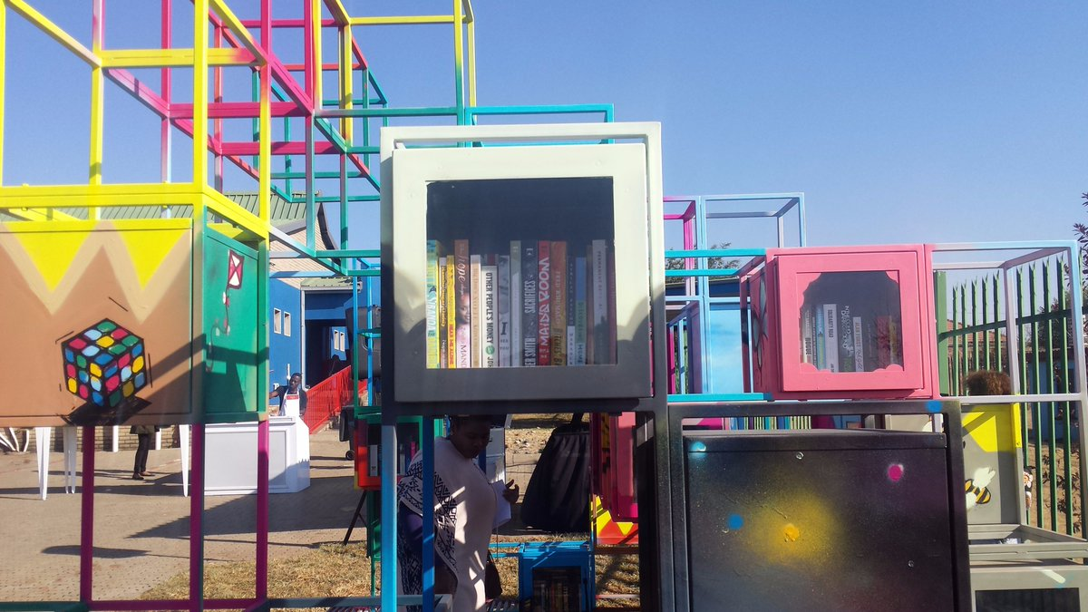 FB Jacana Media On Twitter We Are Proud To Contribute The Massmart Urban Bookshelf Which Was Launched Yesterday At Phefeni Recreational Centre In