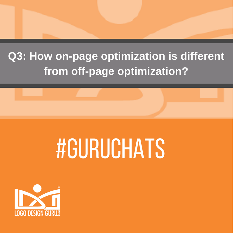 Q3: How on-page optimization is different from off-page optimization? #Guruchats https://t.co/4G8pQIoXlo