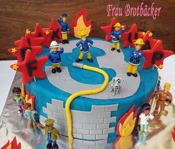 Frau Brotbacker On Twitter Feuerwehrmann Sam Torte Https T Co