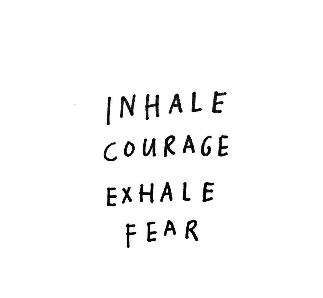 Inhale courage and exhale fear!  #Entrepreneur #BusinessIntelligence #startup #SuccessTRAIN<br>http://pic.twitter.com/LmEfvCdHXr
