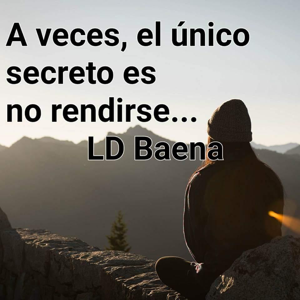 El secreto... #BuenosDias #26Jul www.facebook/LDBaena<br>http://pic.twitter.com/E6xJvNUMHN