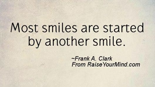 Most smiles are started by... #Smile #ContagiousJoy<br>http://pic.twitter.com/9kDbQ6CVBn