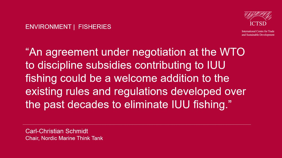 Options for Disciplines on Subsidies to Illegal, Unreported &amp; Unregulated Fishing:  http:// bit.ly/2vELwKe  &nbsp;   #IUU #IUUfishing #Fisheries #WTO <br>http://pic.twitter.com/SN1xYKccrt
