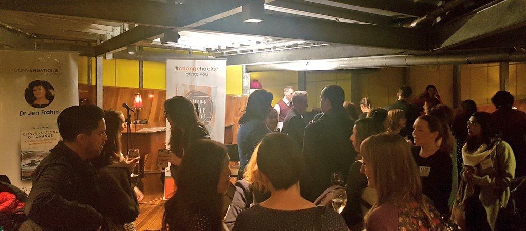 Good crowd building at #BRAINPICKERSLIVE https://t.co/iGTPxo8GuK