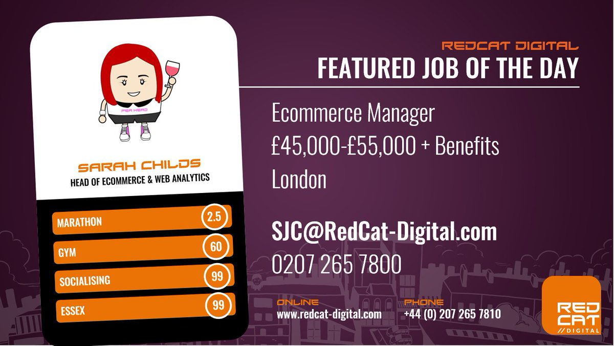 #Hiring an #Ecommerce Manager for an exciting global retail business. Brand new #digital offices in Central London  http:// bit.ly/2v4POyo  &nbsp;  <br>http://pic.twitter.com/xj3eJ6CrS9