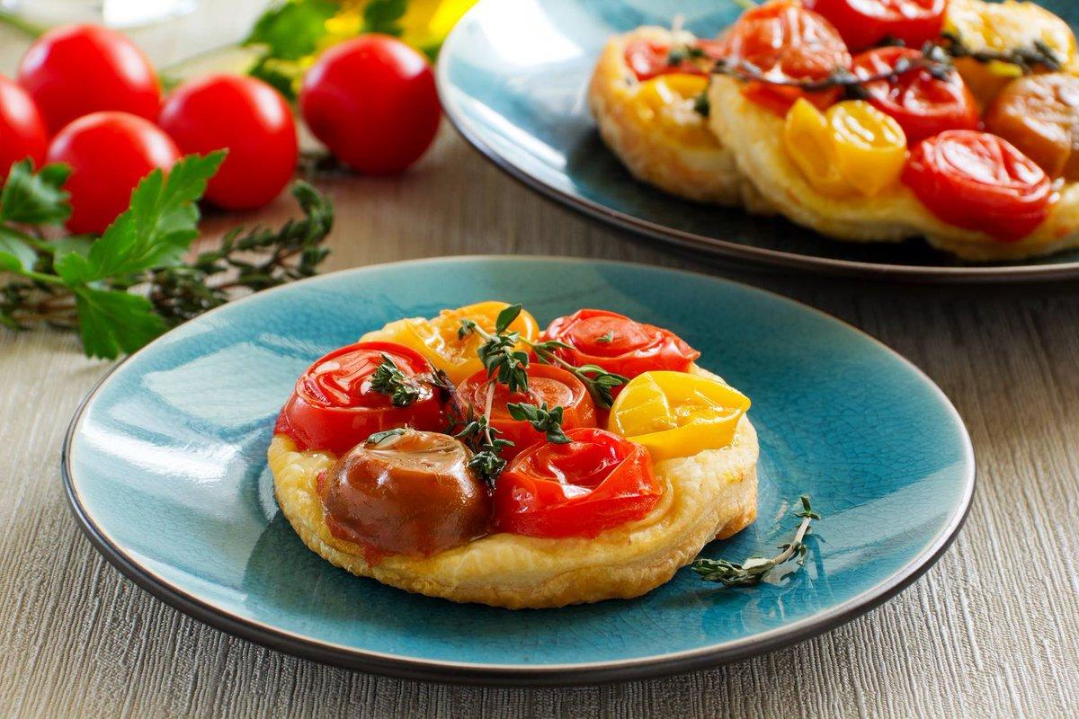 """cuisine et mets on twitter: """"tartelette tatin tomates-cerise"""