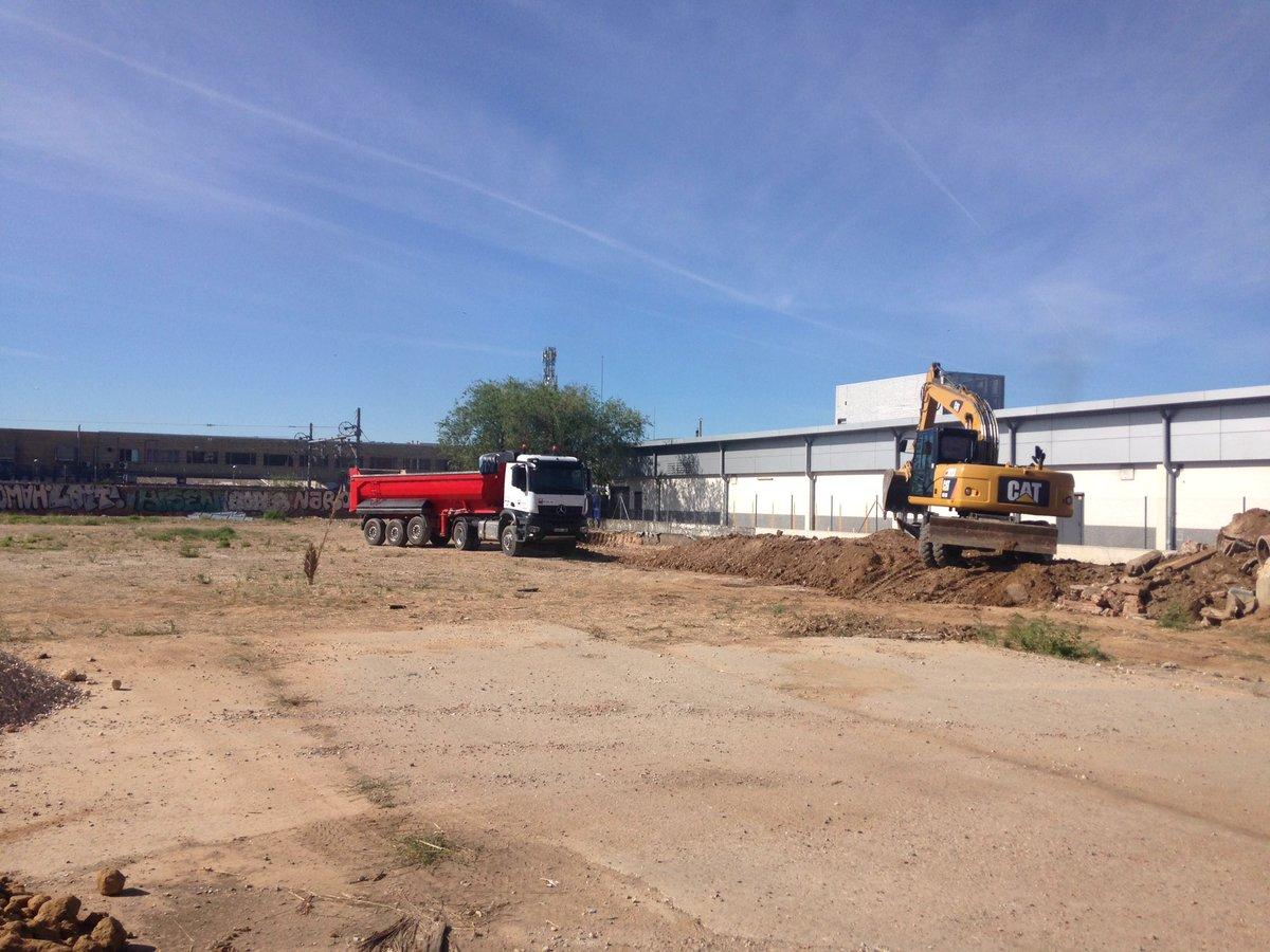 Ampliación parking LIDL Torrejon de  Ardoz (Avd Constitución)