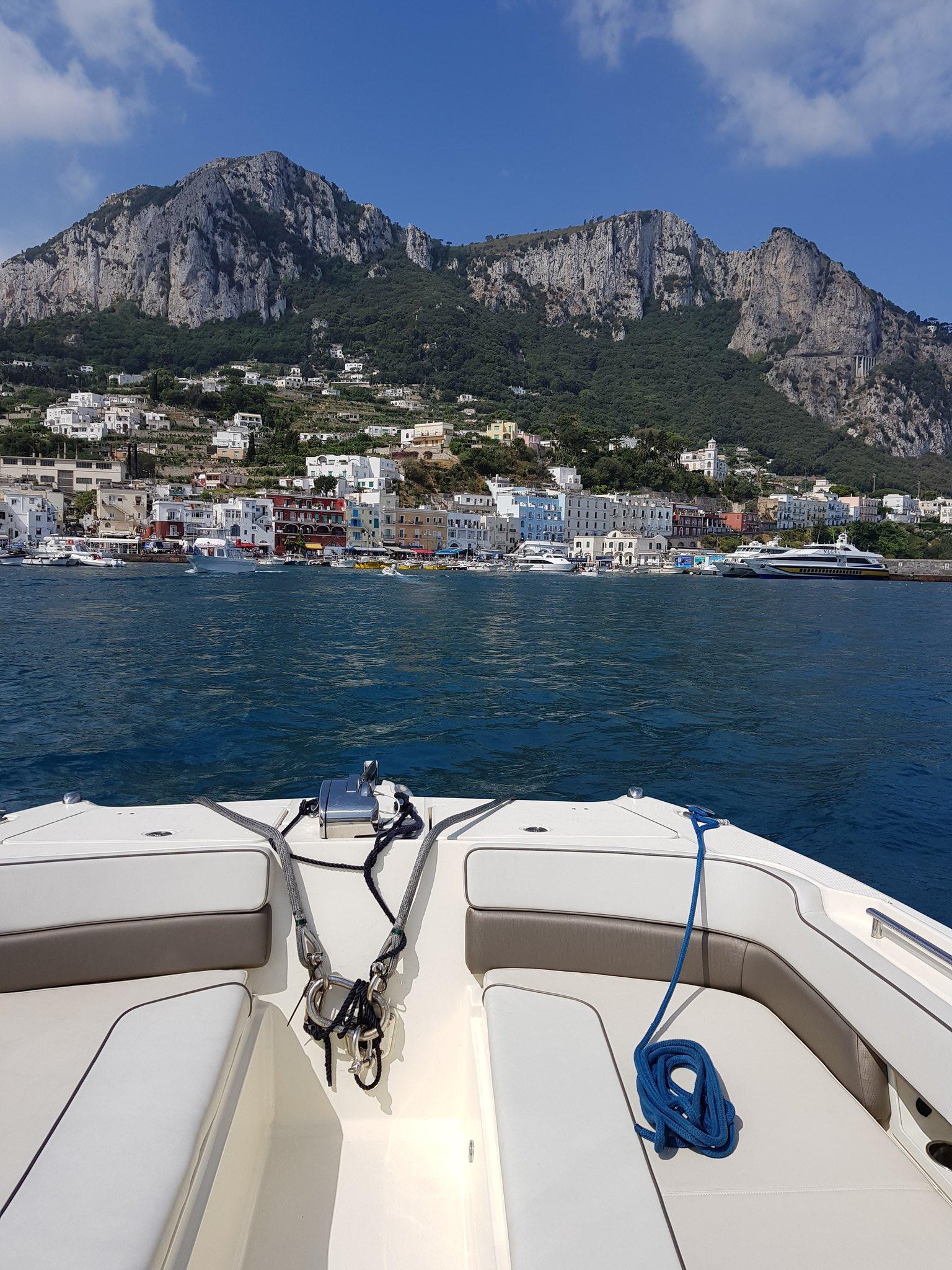 Arrived Capri https://t.co/aWBMqKCcGr