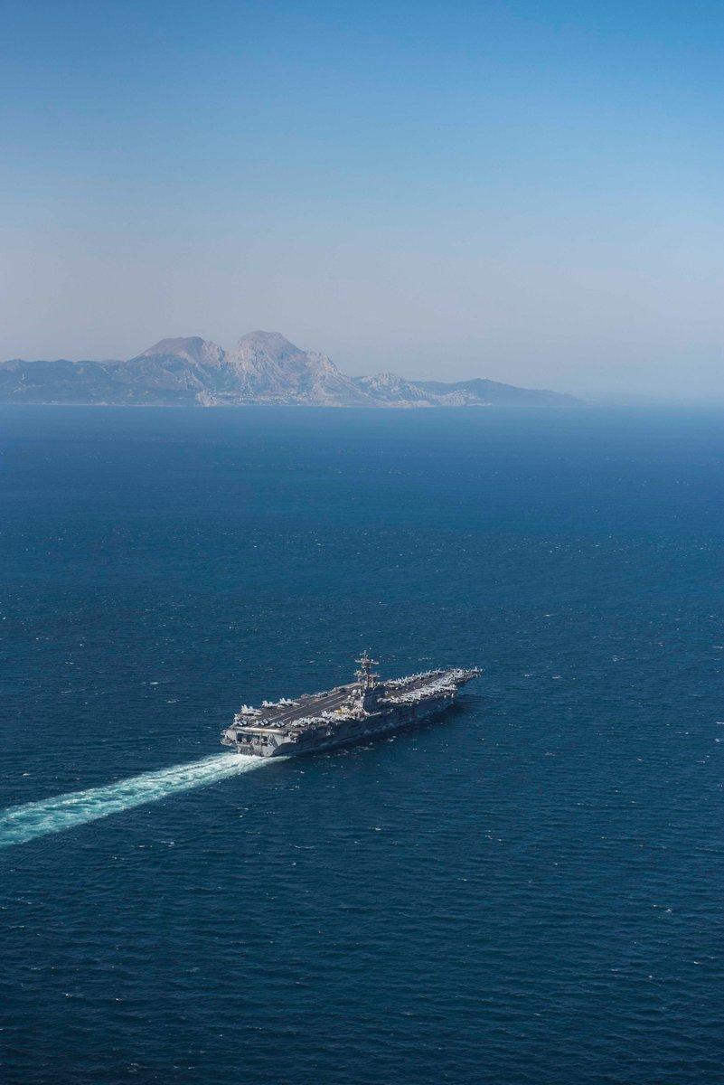 Чем занят эссен сейчас в средиземном море