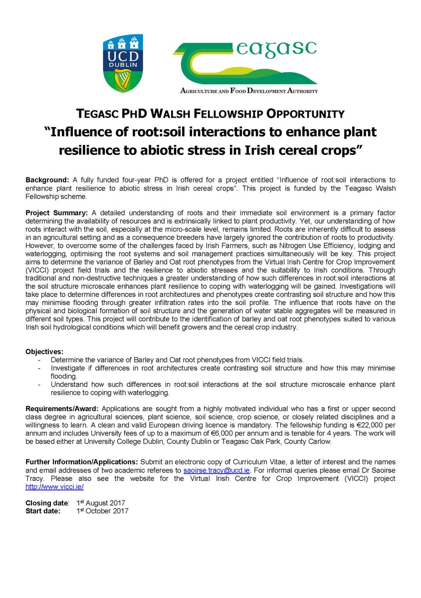 """""""Influence of root:soil interactions to enhance plant resilience to abiotic stress in Irish cereal..."""" #PhD #phdchat  http://www. ucd.ie/t4cms/Influenc e_of_root_soil_interactions_to_enhance_plant_resilience_to_abiotic_stress_in_Irish_cereal_crops.pdf &nbsp; … <br>http://pic.twitter.com/ge9vTZq4Cf"""