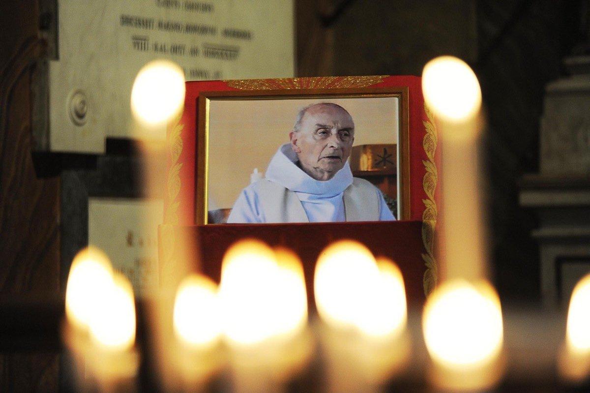 Il y a un an le Père Hamel était égorgé dans son église par des islamistes. Cet assassinat barbare et lâche fait de lui un martyr. MLP