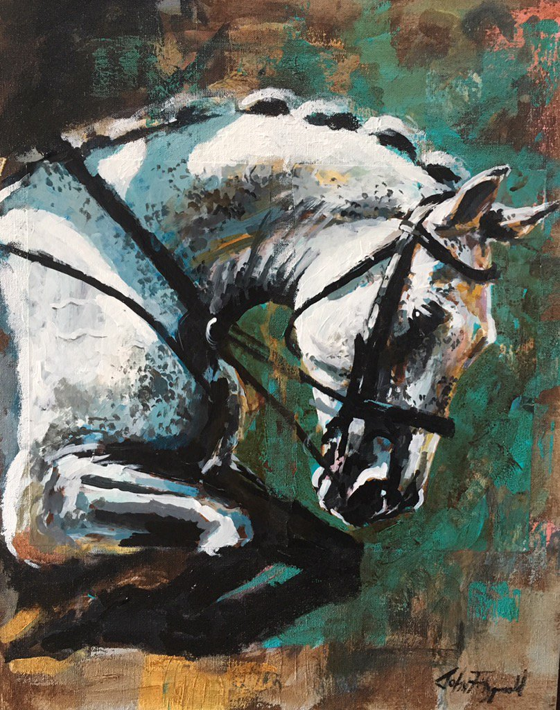 Looking forward to my new exhibitions the this years @DublinHorseShow @TheRDS #art #showjumping #horses <br>http://pic.twitter.com/FcvNFhoh4a