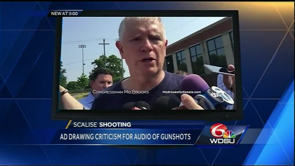 Political ad draws criticism for use of gunfire audio from baseball practice shooting https://t.co/J6tp9ocD5U
