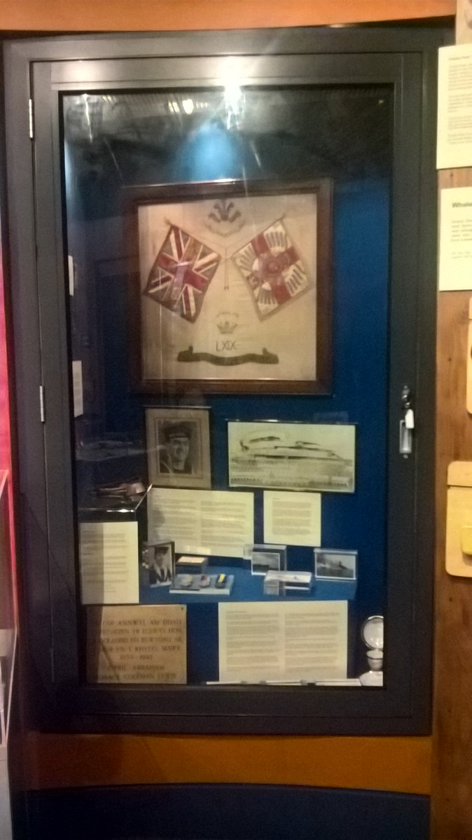 The new display has been finished by @cynonvalleymt #volunteers remembering part of  the history of the Cynon Valley @WelshMuseums<br>http://pic.twitter.com/AbRPAQGyor