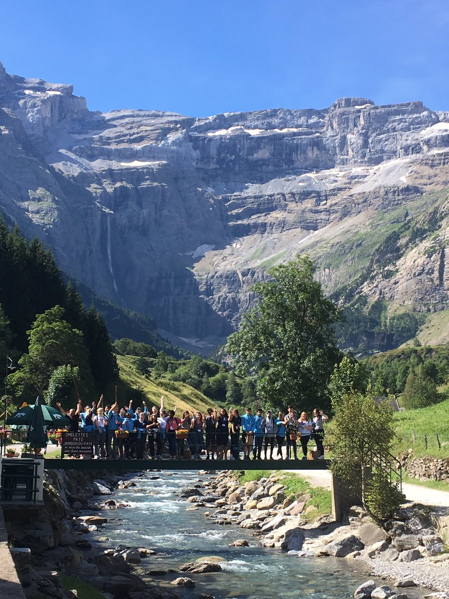 Spectacular @BrentwoodCYS Year 13 retreat day in #Gavarnie. Mass incl Genesis reflection &amp; Emmaus walk ending with Eucharist. #Awe&amp;Wonder <br>http://pic.twitter.com/SsETDYPie3