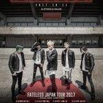 """【NEWS①】渾身のNEWアルバム""""FATELESS""""を10月11日WARNER MUSIC JAP…"""