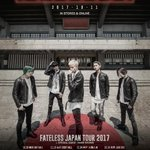 【NEWS②】FATELESS JAPAN TOUR 2017を10月29日からスタート!ゲストあり…